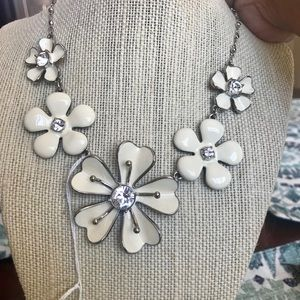 Statement necklace by Touchstone Crystal.